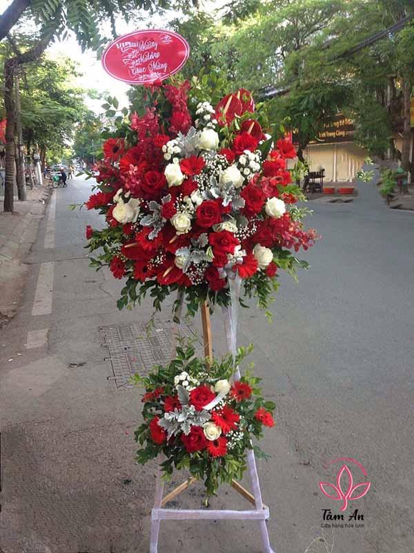 Điện hoa chúc mừng, hoa khai trương giá rẻ tại Hà nội