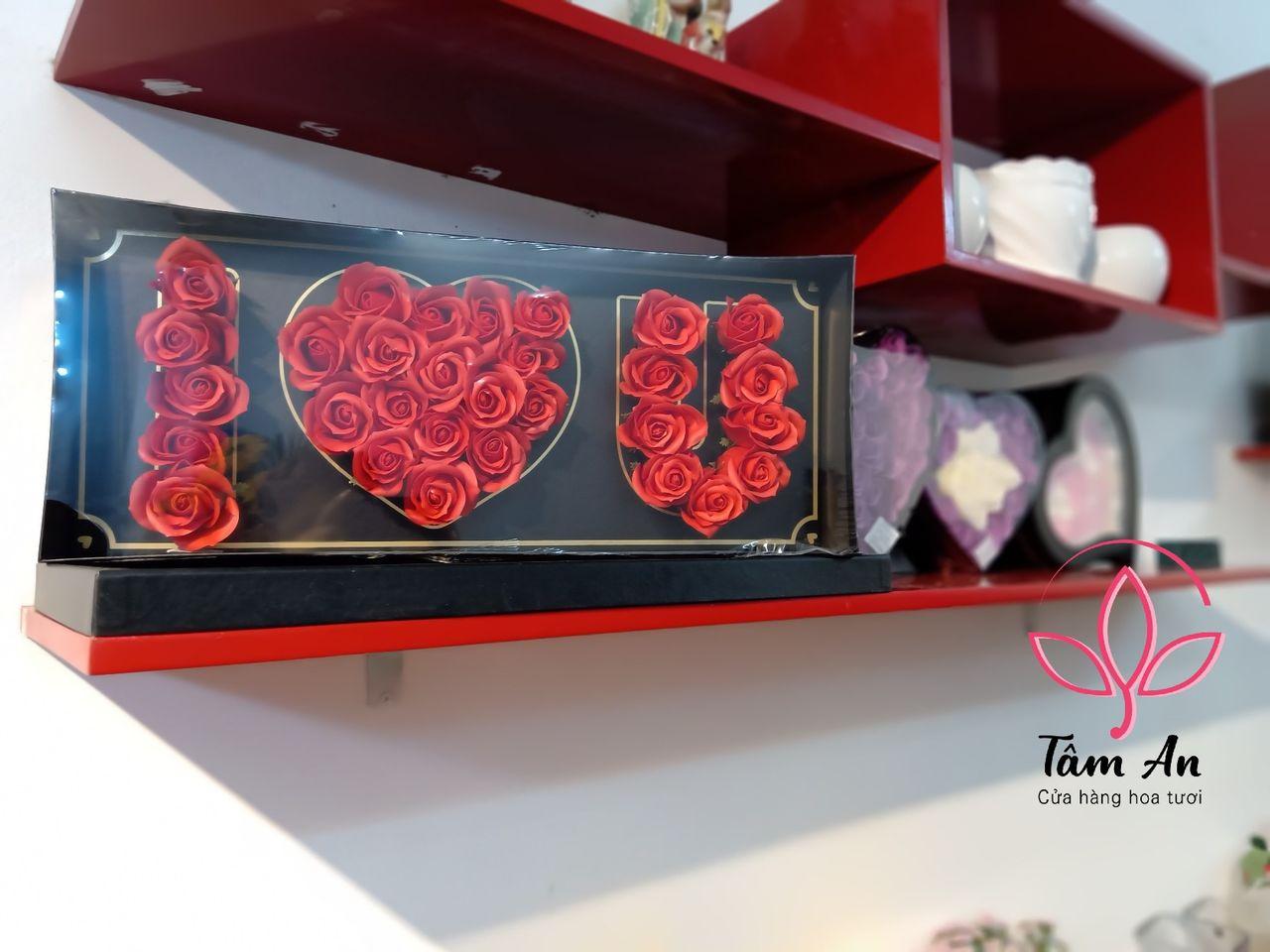 Hoa hồng sáp tặng sinh nhật, Valentine, ngày 8/3, ngày 20/10 | Shop Hoa Tâm An
